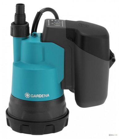 Gardena Akkumulátoros merülőszivattyú tiszta vízhez 2000/2 18V P4A akkumulátornélkül 14600-55